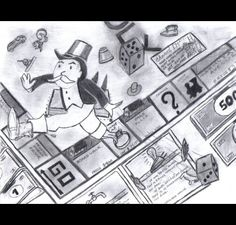 Drawing if monopoly