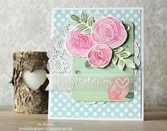 Gorgeous card created by Jo for the Simon Says Stamp Wednesday challenge (For a Special Lady/Girl)