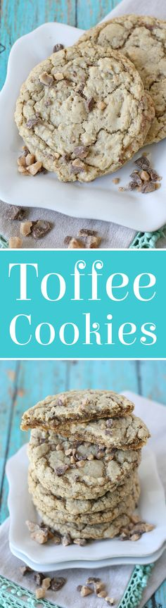 Simply delicious CHEWY TOFFEE COOKIES RECIPE!
