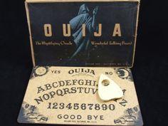 Ouija board?..ooooh...so scary :)