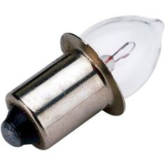 Sea Dog Mini Flange Base Light Bulb, 1.2W, 2.4V-.5A, Silver