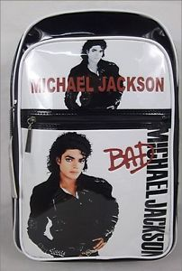 Michael-Jackson-BAD-notebook-Backpack-PVC-BAG-Messenger-BAG