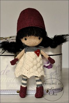 amigurumi crochet doll. No pattern