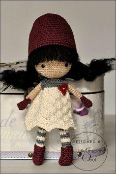 amigurumi crochet doll. No pattern