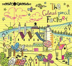 ASTROGRASS TO RELEASE THE COLORED PENCIL FACTORY THIS OCTOBER...