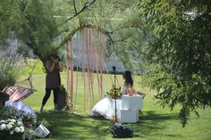 This beautiful garden for our photoshoot location. photos Memory Box Studios http://www.momentisposi.it/blog