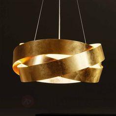 Elégante suspension Pura avec feuille dorée