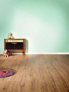 Laminaat vloer met houtlook via Your Floor