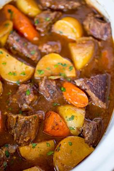 You can't go wrong with classic meals, and that's certainly true of this recipe for Easy Slow Cooker Beef Stew! This recipe is perfect for cold winter nights.