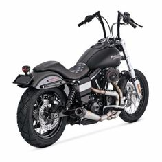V&h rsd slant 2-1 exhaust works finish fits: > 06-14 dyna (excl 12-13 fld switchback) 89667 ook zwart te leveren (200 euro extra)