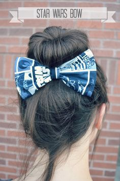 I don't even like Star Wars but Im in love with this Star Wars Hair Bow on Etsy, $4.99