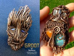 Guardians of The Galaxy - Groot pendant by DeeArtist321.deviantart.com on @DeviantArt