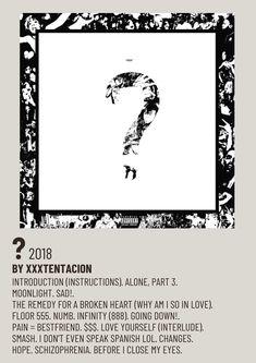 Minimalist Music, Minimalist Poster, Music Collage, Wall Collage, Frank Ocean Album, Alternative Songs, Polaroid Display, Polaroid Wall, Iconic Movie Posters