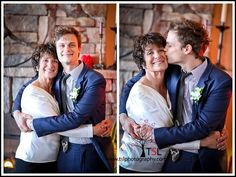 My future husband with my future mother-in-law! Isn't he a sweet son?!