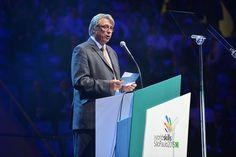 Simon Bartley, WorldSkills President - WorldSkills São Paulo 2015 closing ceremony