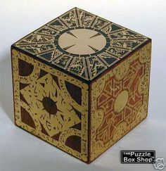 """One of my creations, a replica of the """"box"""" from Hellraiser."""
