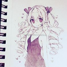 Yay it's almost the weekend && it's been a while since I posted a pencil drawing (I have still been doing them but just not posting them) (○´3`)