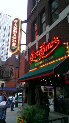 A sign you're in Chicago? Giordano's (Chicago Pin of the Day, 11/9/2014).