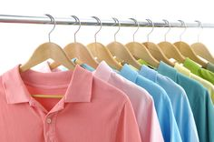 Dry Cleaners and Laundry Services with Pick Up and Delivery of Your Cloths - www. Promotional Clothing, Dry Cleaning Services, Diy Vetement, Laundry Service, Clothes Hanger, Nyc, Closet, Suits, Voici