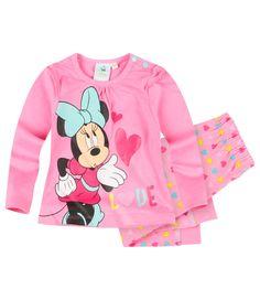 Disney Minnie T Shirt und Hose pink