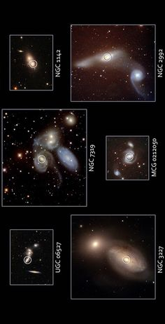 Hubble Space Telescope -  Swift - detected Active Black Holes in Merging Galaxies