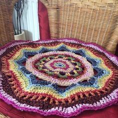 Seat sized. #crochet