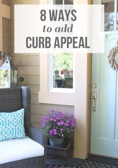 Easy ideas for how to add curb appeal on a budget