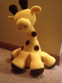 "Gerard the Giraffe Amigurumi Pattern Recently it came to my attention upon falling in love with countless giraffe ""free patterns"" that these claims to a free pattern didn't even include a pattern at..."