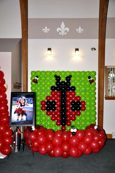 Ladybugs Birthday Party Ideas | Photo 8 of 20 | Catch My Party