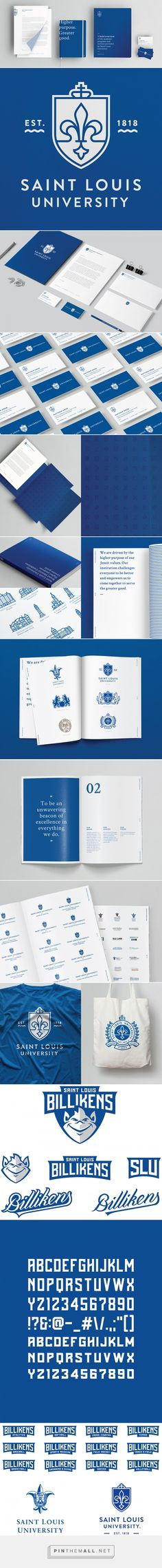 Brand New: Follow-up: New Identity for Saint Louis University by Olson - created via http://pinthemall.net