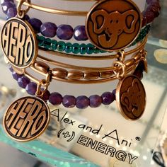 Charity by Design bangles! Alex and Ani at Currents Gifts, West Dennis, MA on Cape Cod. Check out  www.CurrentsGifts.com for more information. #AlexandAni #CurrentsGifts #Charity