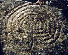 Labyrinth of Mogor (Marín, Pontevedra) - Spain Sedona Arizona, Maze, Animal Print Rug, Primitive, City Photo, Geometry, Graffiti, Mystery, Google