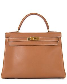 Hermes Gold Courchevel Leather Kelly 28cm GHW