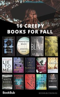 16 Creepy Books to Read with Your Book Club This Fall Dive into the chill of fall with 16 terrifying books, perfect for lovers of horror fiction or dark thrillers! Books You Should Read, Best Books To Read, Ya Books, Good Book Club Books, Best Scary Books, Books To Read In Your 20s, Best Books Of All Time, Horror Fiction, Horror Books