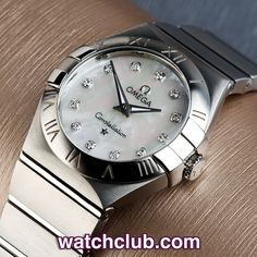 """Omega Lady Constellation """"Diamond Dial"""" REF: 12310276055001 