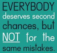 Quote second chances Love this...
