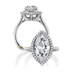 now this is exactly what i want! marquise cut, (1+carat), halo, thin diamond band, and cathedral setting. #perfect