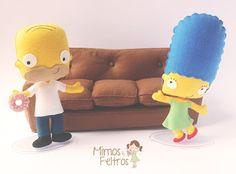 The Simpsons - Feltro