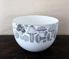 cute mushroom enamel bowl :)