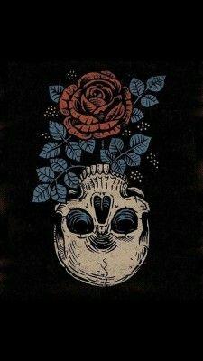 Wallpaper caveira com rosa g tattoo wallpaper - Hira Forum Dark Wallpaper, Tumblr Wallpaper, Wallpaper Backgrounds, Phone Backgrounds, Screen Wallpaper, Mobile Wallpaper, Wallpaper Lockscreen, Custom Wallpaper, Iphone Wallpaper Illustration