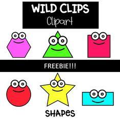 Shapes clip art - FREE!