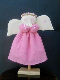 angelita de manta para cumpleaños