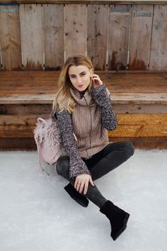 ICE ICE BABY | Zara Sweater, Vince Sleeveless Vest, Vince Suede Legging, Ugg Boots, Meli Melo Backpack | Fashion Blogger Queen of Jet Lags