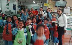 Continuamos con la visita de los niños del Colegio Celco de #Sogamoso en #CanastaCentro  Nosotros estamos muy contentos de tenerlos aquí! :) #CanastaKids #Canasta40años #Supermercadoslacanasta #Duitama #clientefelizsupermercadoslacanasta