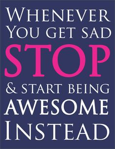 Start Being Awesome 11X14 Print by RusticHomemade on Etsy, $12.00