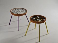 Up-cycled stool