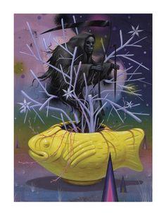 Genie Giclee Print | Stormcloudz