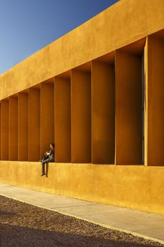 Among the world's most incredible architectural photographs is Exteriors: Universite lbn Zohr de Laayoune, Laayoune, Morocco, by Doublespace Photography (Amanda Large & Younes Bounhar).