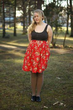 Viffla: Den röda kjolen