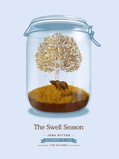 Josh Ritter's Swell Seasons Poster - Bear